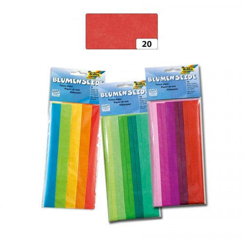 Tissue Paper,50X70Cm,5 ,Red