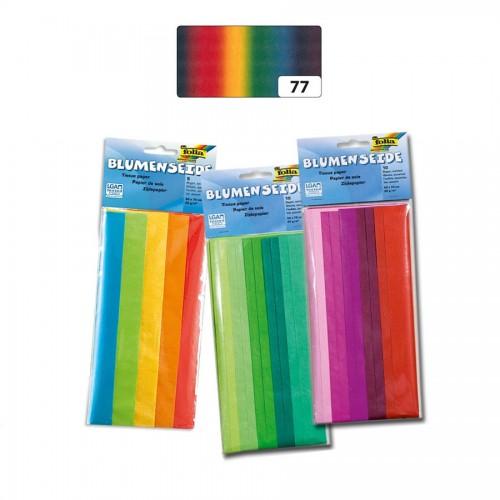 Tissue Paper,50X70Cm, 5,Rainbow