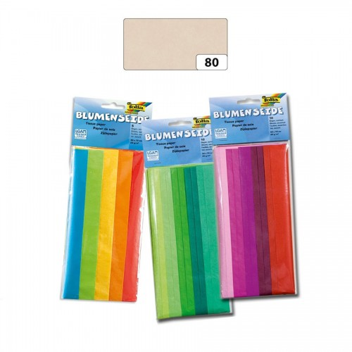 Tissue Paper,50X70Cm,5,Grey