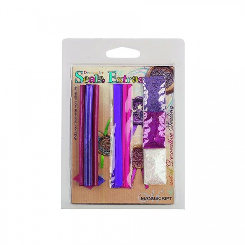 Decorative Sealing Extras Pink Purple