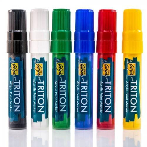 Triton Acrylic Paint Marker 15.0- 6Er Set