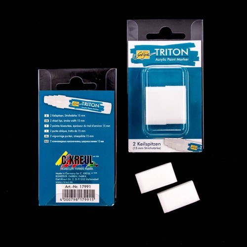Triton Acrylic Paint Marker 15.0 Tips Set