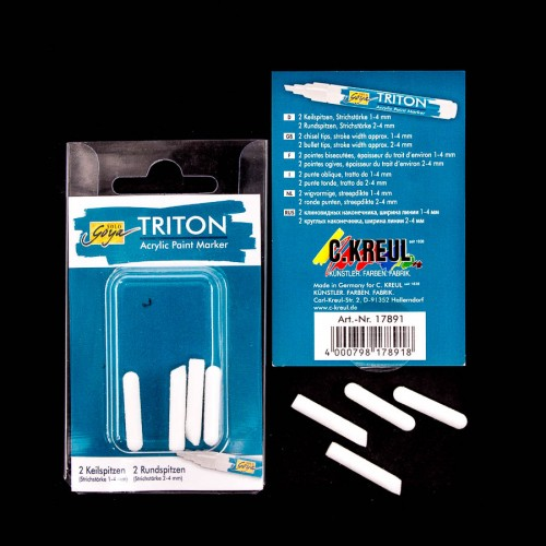 Triton Acrylic Paint Marker 1.4 Tips Set