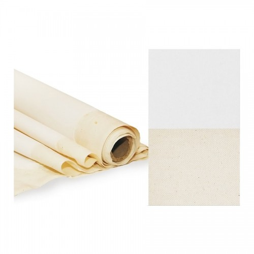 Primed Linen Canvas, Fine Grain, 1X10M