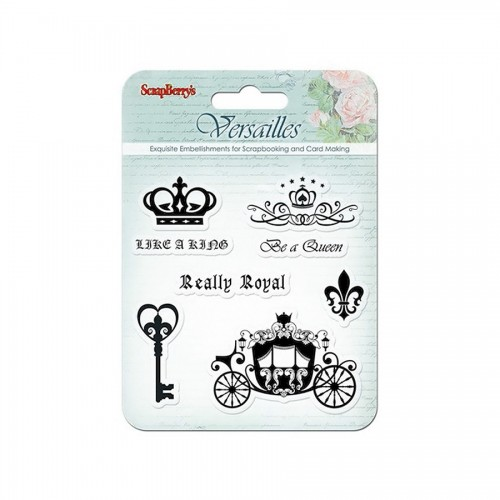 Set Of Stamps 10,5*10,5Cm Versailles. Like A King