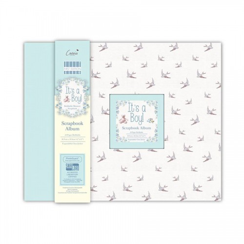 First Edition Its A Boy Scrapbook Album