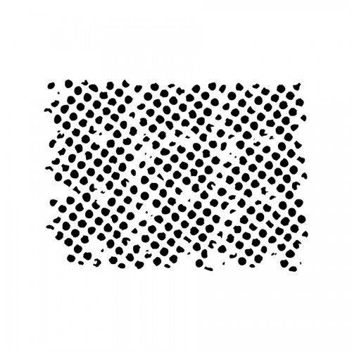 Stencil D Cm20X15  Texture Honeycomb