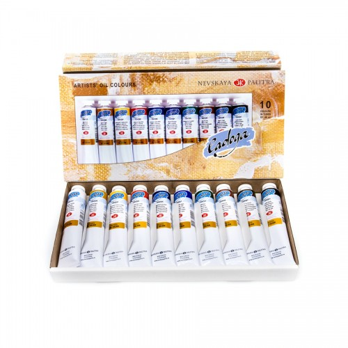 Oil Colour Set 10X46Ml Ladoga