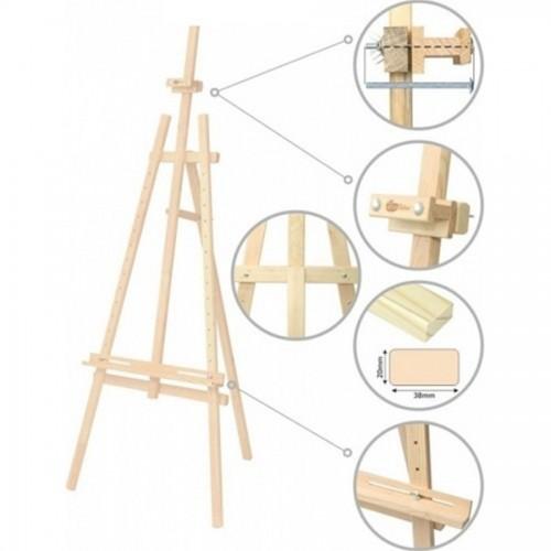 Bamboo Sketch Easel  57X60Xx120Cm