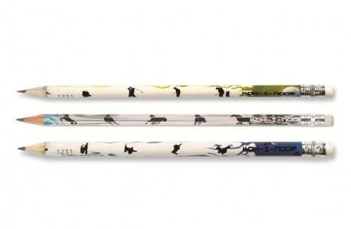 Graphite Pencils with eraser Sport