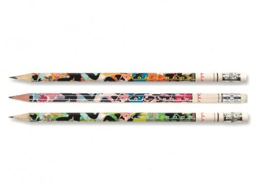 """Graphite Pencils with eraser""""Hawai"""""""