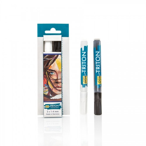 Solo Goya Triton Acrylic Paint Marker 1.4 - 2-Pen-