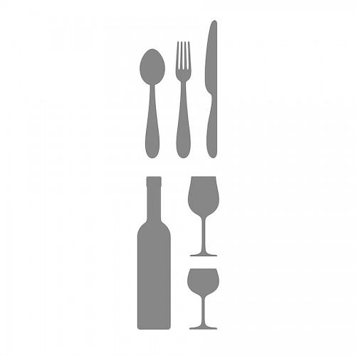 Stable Design Stencil, Self-Adhesive Kitchen Joy,