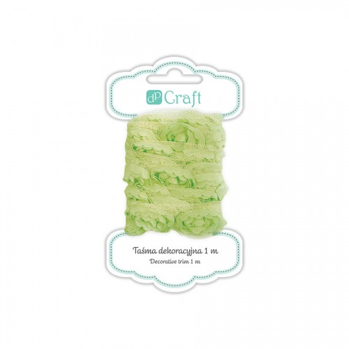 Decorative Ribbon, 1M - Lime