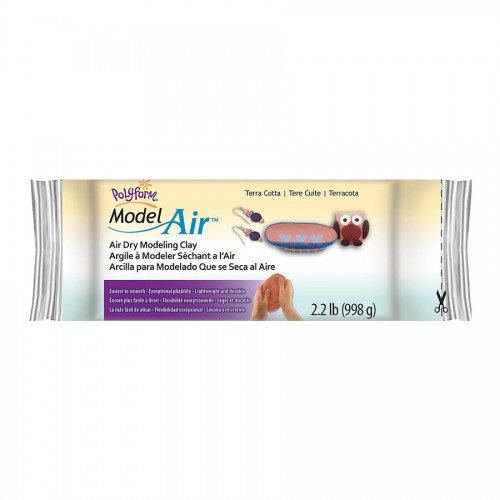 Model Air Dry Clay -- Terra Cotta, 2.2 Lb (1 Kg)