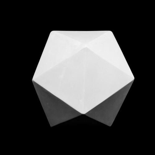 Plaster Cast Icosahedron