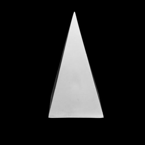 Plaster Cast Pyramid