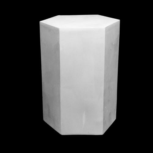 Plaster Cast Hexagonal Prysm