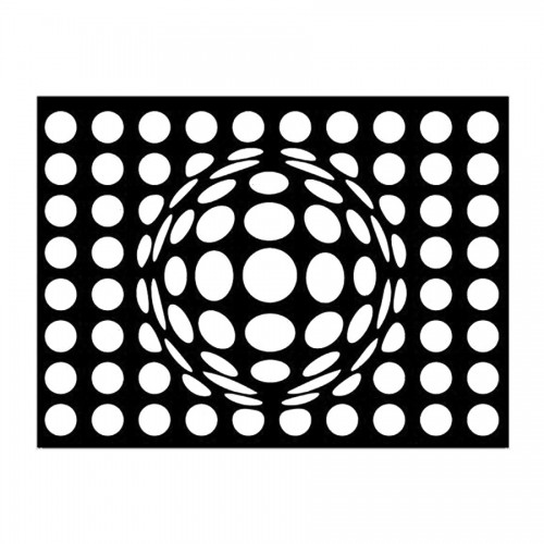 Stencil H Cm. 44X60 Optical