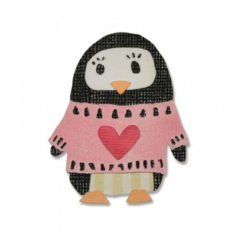 -50% Thinlits Die Set 6Pk - Friendship Penguin By Craft