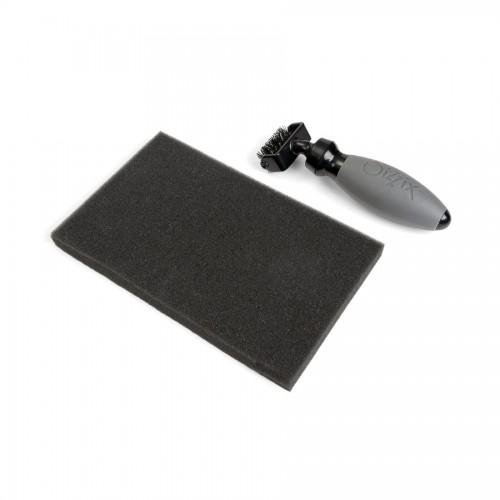 Accessory - Die Brush & Foam Pad For Wafer-Thin Di