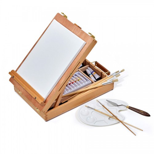Box Easel Set , Acrilyc  Color