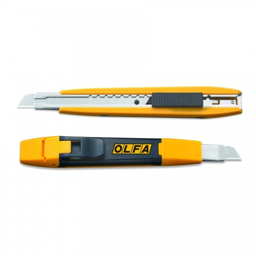 Olfa® Snap It 'N' Trap It™ Auto-Lock Utility Knife