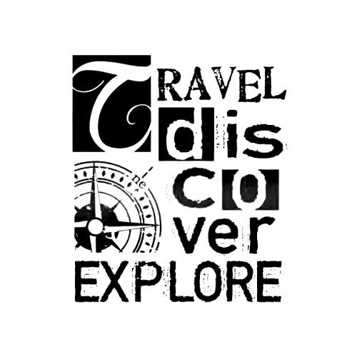 Stencil D Cm.20X15 Travel