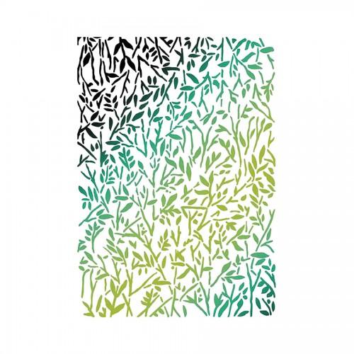 Stencil G Cm.21X29,7 Texture Fern