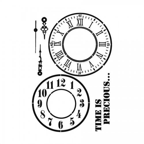 Stencil M Cm. 30X44 Watch And Hands