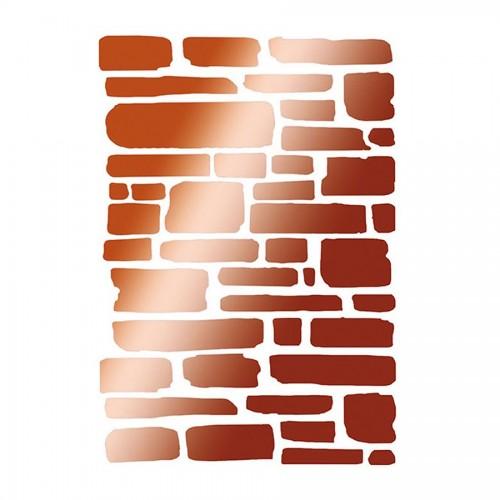 Stencil M Cm. 30X44 Big Bricks