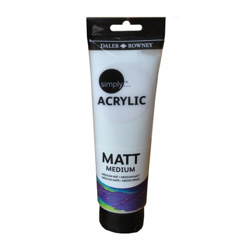 SIMPLY ACRYLIC MATT MEDIUM 250ML