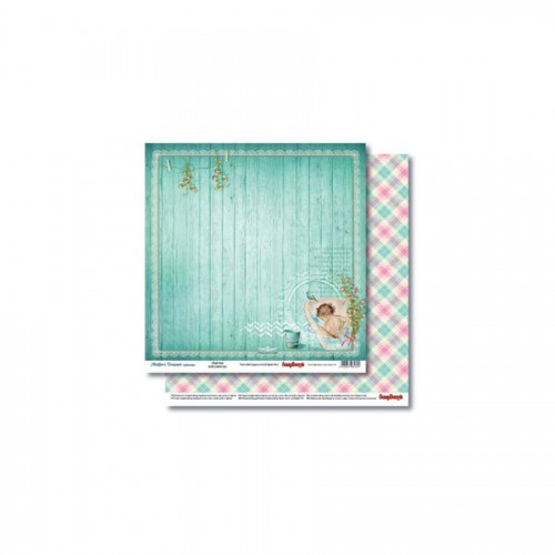 Double-Sided Paper 12X12 -Mother'S Treasure Joy 190Gsm