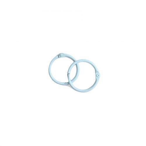 Album Metal Rings 20Mm Blue, 2Pcs