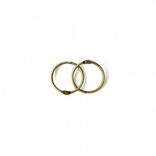 Album Metal Rings 20Mm Antique-Brass, 2Pcs