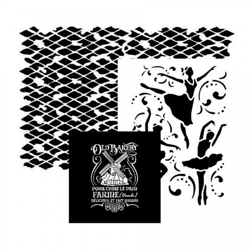 Stamperia Stencils KSG 21x29.7 cm