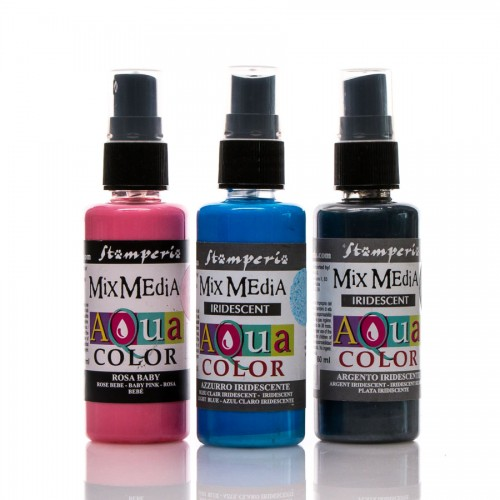 Aquacolor spray Iridescent 60 ml