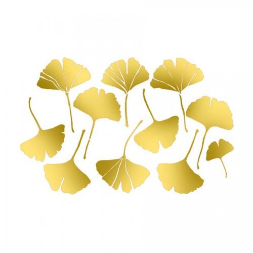 Stencil D  Cm. 20X15 Range Of Leaves