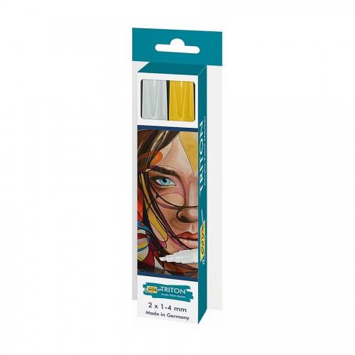 Triton Acrylic Paint Marker 1.4 Set Silver&Gold