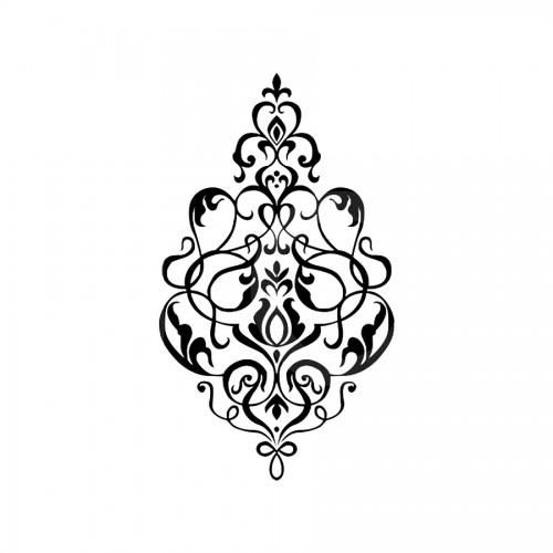 Stencil G Cm. 21X29,7 Classique Volute