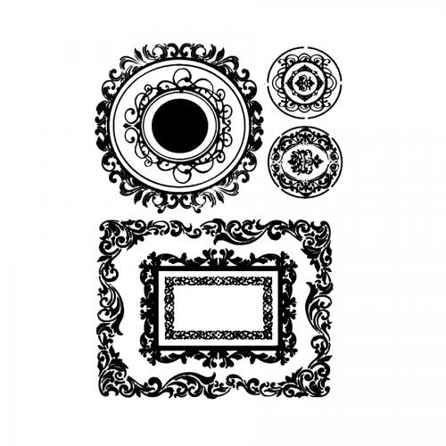 Stencil M Cm. 30X44 Frames