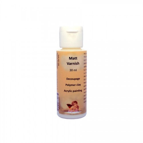 Matt Varnish, Bottle 30 Ml