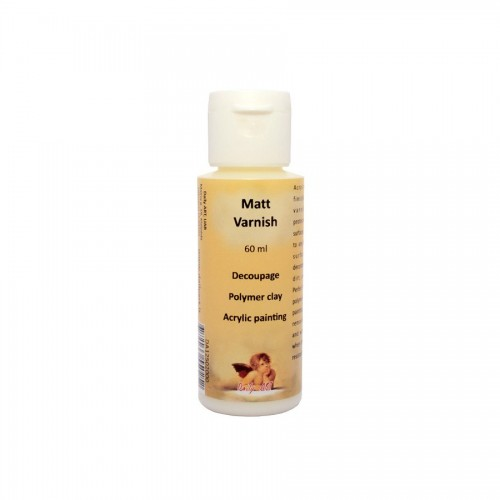 Matt Varnish, Bottle 60 Ml