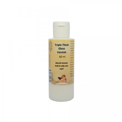 Tripple Thick Gloss Varnish, Bottle 60 Ml