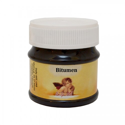 Bitumen Patina Water Based, Jar 50 Ml