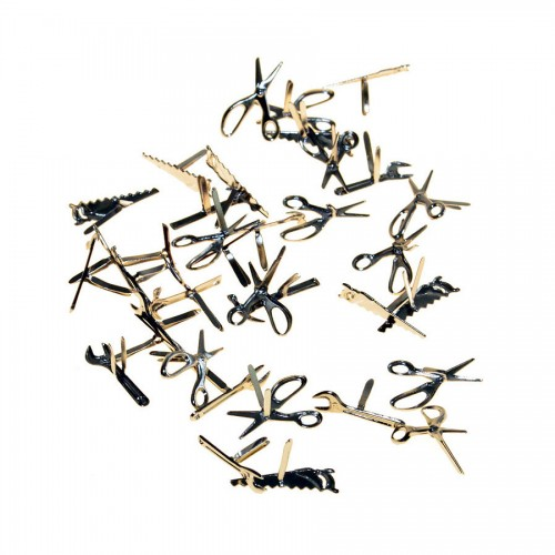 Mypaperworld Brads Miniature Tools 32 Pcs