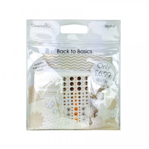 Dovecraft Back To Basics Goody Bag  Neutral