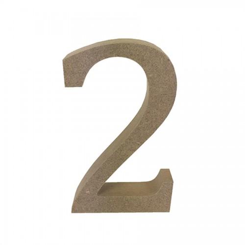 Mdf Number Blank  2