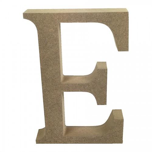 Mdf Letter Blank  E