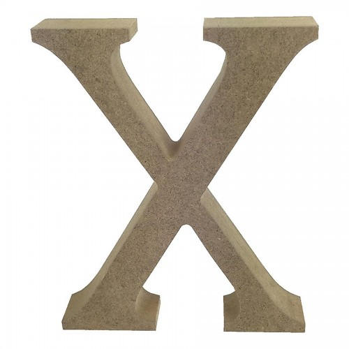 Mdf Letter Blank  X